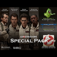 Ghostbusters Special Pack - Four 1/6 Scale Figure Set by Blitzway