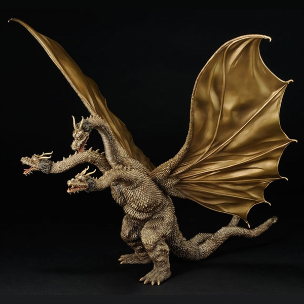Toho Kaiju King Ghidorah Vinyl Figure By X Plus