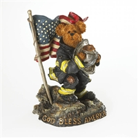 Boyds 9-11 Remembrance Fireman Figurine, 4026022