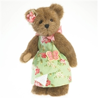 Boyds 12in Plush Bear in Butterfly Dress, 4027325