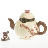 Tea Kettle - Boyds Trinket Box, 4027342