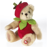 Boyds 10-inch Plush Bear Dressed as Apple, 4034127