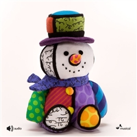 Britto 'Mini Snowman' 10in Musical Christmas Plush, 4027877