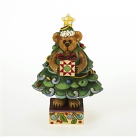 Bear in Christmas Tree - Boyds Figurine, 4015159