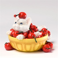 Charming Purrsonalities 'Life's A Bowl Of Cherries With You' 4027978