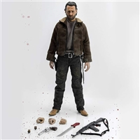 Walking Dead Rick Grimes 1/6 Scale Figure by threeZero