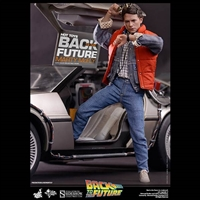 Hot Toys Marty McFly, Back to the Future 1/6 Scale Figure