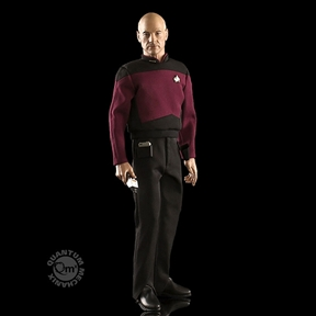QMX Star Trek Master Series Captain Picard 1/6 Scale Figure by Quantum Mechanix