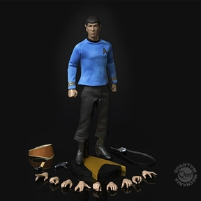 QMX Star Trek Master Series Mr. Spock 1/6 Scale Figure by Quantum Mechanix