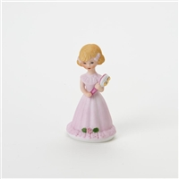 Age 5, Blonde - Growing Up Girls Figurine - E2305