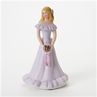 Age 16, Blonde - Growing Up Girls Figurine, E7293