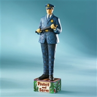 Heartwood Creek Old Fashioned Police Officer Figurine by Jim Shore, 4007233