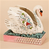 Swan - Jim Shore / Heartwood Creek Figurine, 4026850