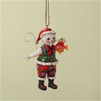 Christmas Cat, Tree Ornament - Jim Shore / Heartwood Creek, 4027756
