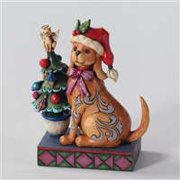 Heartwood Creek Christmas Dog Figurine by Jim Shore, 4027767