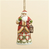 Colonial Williamsburg Santa Ornament - Jim Shore, Heartwood Creek, 4034426