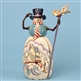 Snowman with Cane - Jim Shore / Heartwood Creek Figurine, 4035388