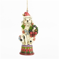 Christmas Dog Nutcracker - Jim Shore, Heartwood Creek 5in Tree Ornament, 4036690