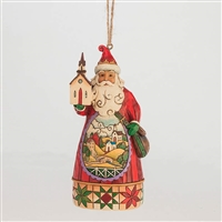 Heartwood Creek Church Scene Santa Ornament by Jim Shore, 4047788