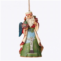 Heartwood Creek Brazilian Santa Around the World Ornament by Jim Shore, 4047791