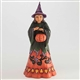 Heartwood Creek Candy Corn Witch Figurine by Jim Shore, 4047835