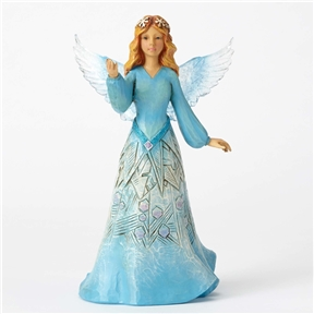 Heartwood Creek Wonderland Snowflake Angle Figurine by Jim Shore, 4053672