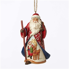 Heartwood Creek Lapland Santa w/Bag of Toys By Jim Shore, 4053833