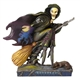 Heartwood Creek Scary Evil Witch on Broom Figurine by Jim Shore, 4058846,