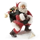Santa on Rooftop - Possible Dreams Christmas Figurine, 4038695