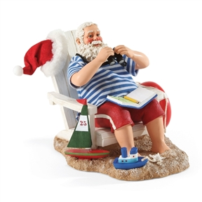 Possible Dreams | Santa on Vacation by the Beach | 4046487