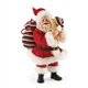 Possible Dreams Santa with Puppy Figurine | 4050068