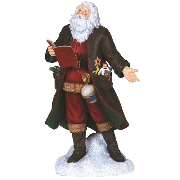 Caroling Santa Pipka By Precious Moments Figurine 7131201 Flossie S Gifts And Collectibles