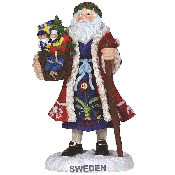 Sweden Santa Pipka By Precious Moments Figurine 7131215
