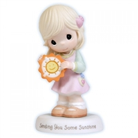 Girl Holding Sun - Precious Moments Figurine, 103025