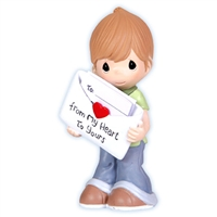 Love Notes Boy - Precious Moments Figurine, 103402