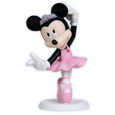 Minnie Mouse Ballet Dancer Disney Figurine Precious