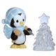 Penguin Making Christmas Ice Sculpture - Precious Moments Figurine, 121021