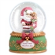 Santa with Stocking Musical Snow Globe - Precious Moments, 121104