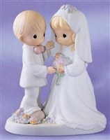 Bride and Groom - Precious Moments Figurine, 129100
