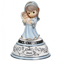 Mary with Baby Jesus - Precious Moments Musical Figurine, 131109