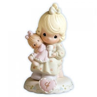 Growing In Grace, Age 4 - Precious Moments Figurine, 136239