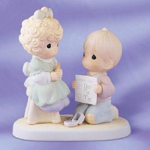Marriage Proposal Precious Moments Figurine 520845