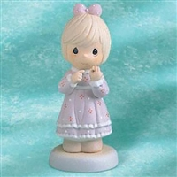 Girl with Wedding Ring - Precious Moments Figurine, 530999