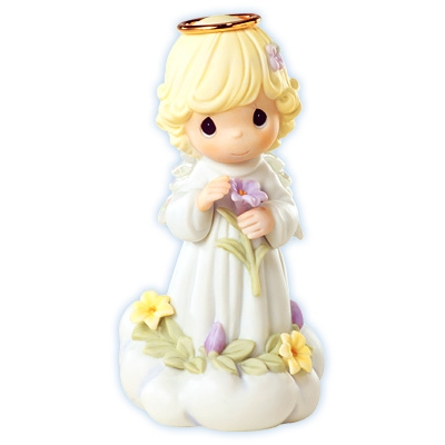 Angel With Lily Precious Moments Figurine 610046