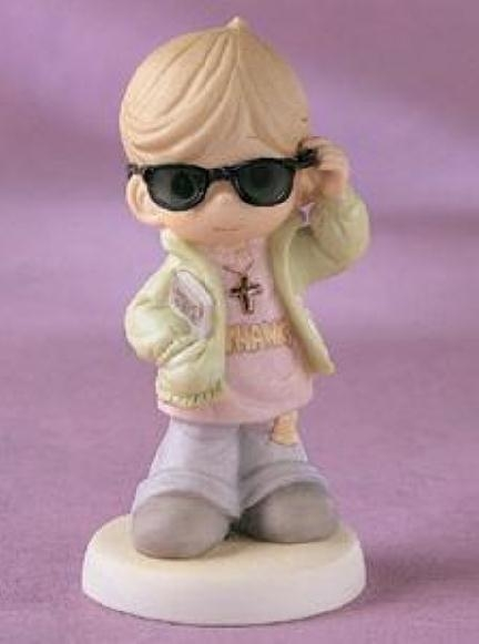 Boy With Shades Precious Moments Figurine 730041