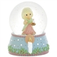 Girl With Chamberstick - Precious Moments Musical Waterball, 911009