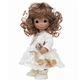 Ewe So Sweet, Brunette 12in, Precious Moments Doll, 4542
