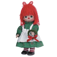 Christmas Raggedy Ann - 12in Precious Moments Doll, 4721