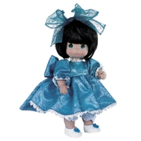 Sad Face, Brunette - 12in Precious Moments Doll, 4732