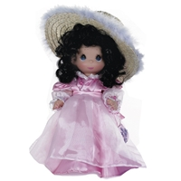 Glamour Girls, Brunette - Precious Moments 12in Doll, 4758